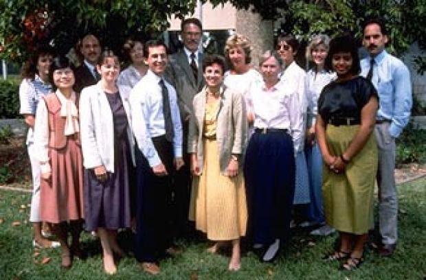 Center staff, circa 1980